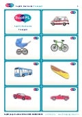 SupEFL flashcards: transport