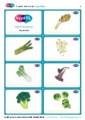 SupEFL flashcards: vegetables