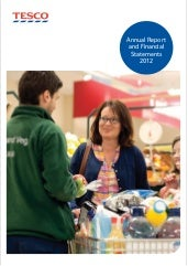 Supermarket annual report_2012