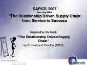 Supply chain relationships and collaboration