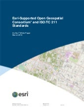 Esri-Supported OGC/ISO Standards