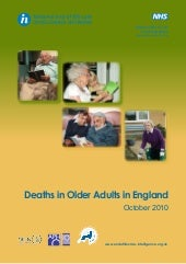 Deaths in Older Adults