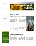 Suresh gyan vihar university international school of business management  hulchal newsletter issue two
