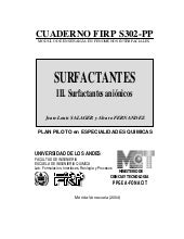 Surfactantes para industria jabonera