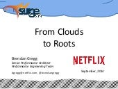 Netflix: From Clouds to Roots