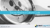 Survey Analytics Culture Code