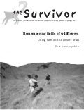 Spring 2002 The Survivior Newsletter ~ Desert Survivors