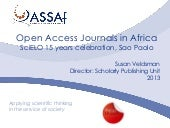 Open Access Journals in Africa