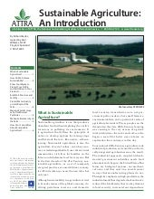 Sustainable Agriculture: An Introdu...