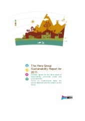 Hera Group, Sustainability report 2011