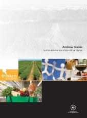 Sustainable Food & Wine Value C...