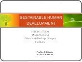 Sustainable Human Development