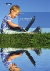 Sustainable IT KPMG Publication D. ...