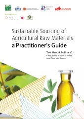 Sustainable Sourcing of  Agricultur...