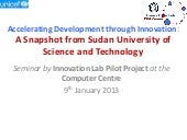 SUST Innovation Lab Seminar on 9th ...