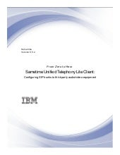 IBM Sametime Unified Telephony Lite...