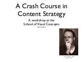 SVC Content Strategy Workshop - Win...