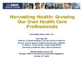 Harvesting Health: Growing Our Own ...