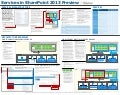 SharePoint 2013 Services Map