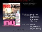 The Chronicles of Web Standard III:...