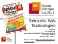 13 Semantic Web Applications 01 , Semantic Web Technologies WS 2010/11