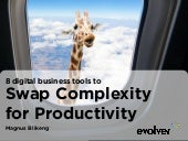 Swap Complexity For Productivity