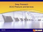 Sway Research DCIO Services