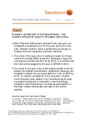 Swedbank Baltic Sea Analysis No. 32...