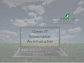 Green-IT Governance : the sustainab...