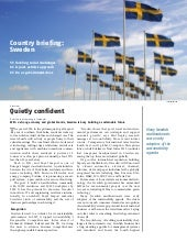 Sweden country briefing, Ethical Co...