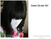 Sweet zentai girl