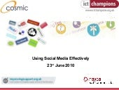 South West Forum - Social Media Wor...