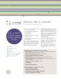 SWIFTRef factsheet - reference data for corporates
