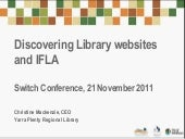 Discovering Library Websites and IFLA