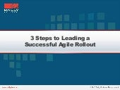 3 Steps to Leading a Successful Agi...