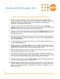 SWOP 2013; 10 Facts - Africa