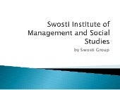 Swosti institute of management and social studies Events and fuctions