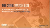 The 2016 Watch List