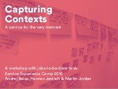 Capturing Contexts: A Workshop With Jobs-to-be-Done Tools