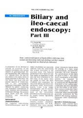 Biliary and Ileo-cecal Endoscopy Part-III - Sanjoy Sanyal