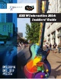 SXSW Interactive 2014: Insiders' Guide