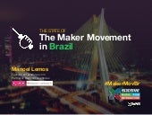 The State of The Maker Movement in Brazil - SXSW 2015