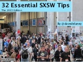 32 Essential SXSW Tips