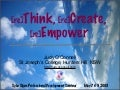 [re]Think, [re]Create, [re]Empower