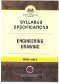 Syllabus Specifications Enginering Drawing