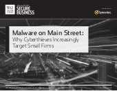 "Symantec & WSJ PRESENTS ""MALWARE on Main Street"" ..."
