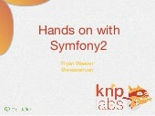 Hands-on with the Symfony2 Framework
