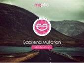 Meetic Backend Mutation With Symfony