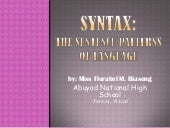 Syntax ppt..ms. biasong