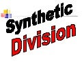 Synthetic division